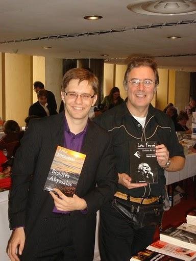 Artur Michalski et Thierry Rollet au salon SIEL de Paris 2010
